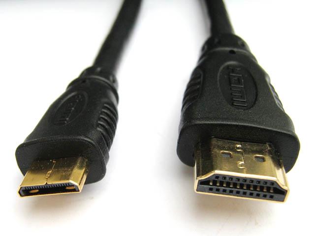 Аксессуар 5bites HDMI 19M / MINI HDMI 19M V1.4V 3D 2m APC-015-020
