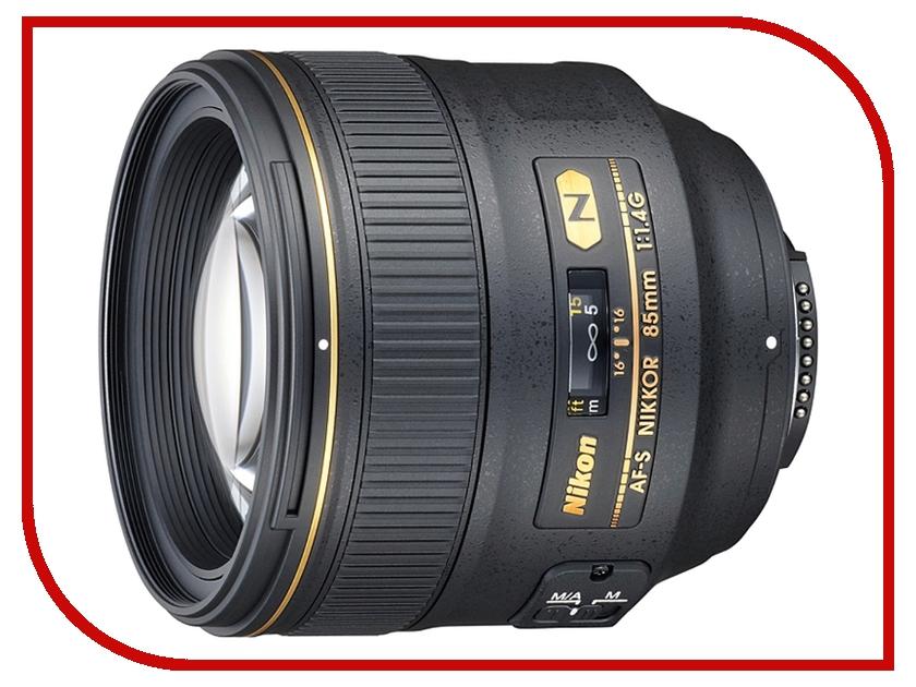 Объектив Nikon Nikkor AF-S 85 mm F/1.4 G