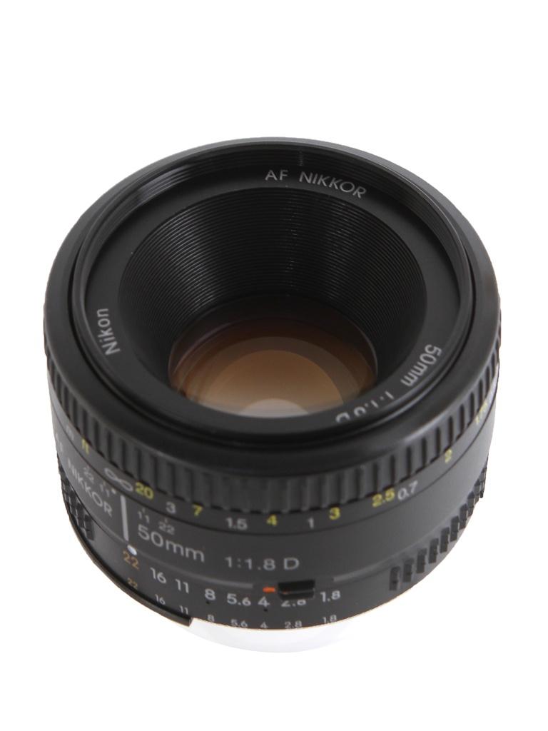 цена на Объектив Nikon Nikkor AF 50 mm F/1.8 D