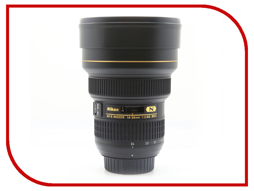 Объектив Nikon 14-24mm f/2.8G ED AF-S Nikkor new and original for niko lens af s zoom nikkor ed 24 70mm f 2 8g if 24 70 focus fixed ring unit 1c999 535
