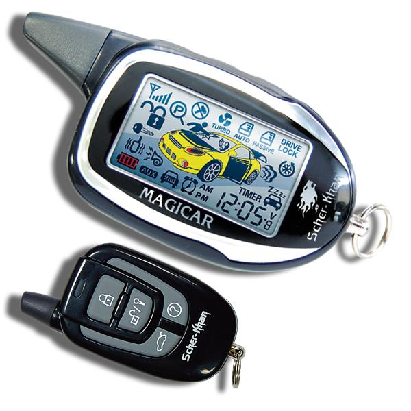 Сигнализация Scher-Khan Magicar 7 / 7H 2-way с автозапуском magicar 903 magicar 902 remote starter two way alarm car alarm system magicar