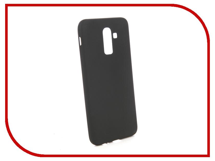 Аксессуар Чехол для Samsung J8 2018 J810F Zibelino Sottile Silicon Black ZSS-SAM-J810F-BLK