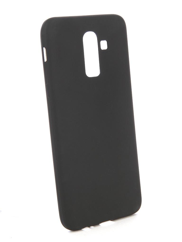 Аксессуар Чехол Zibelino для Samsung J8 2018 J810F Sottile Silicon Black ZSS-SAM-J810F-BLK аксессуар чехол zibelino для honor p smart sottile silicon black zss hua p smt blk
