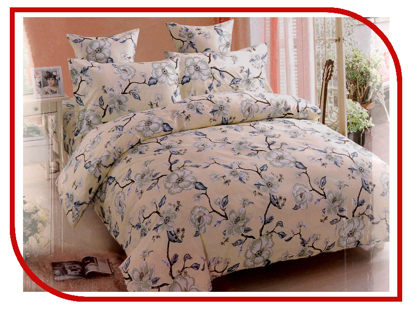Постельное белье Amore Mio BZ Basel Комплект Евро Сатин 4307 постельное белье amore mio bz genoa комплект 1 5 спальный сатин 1061