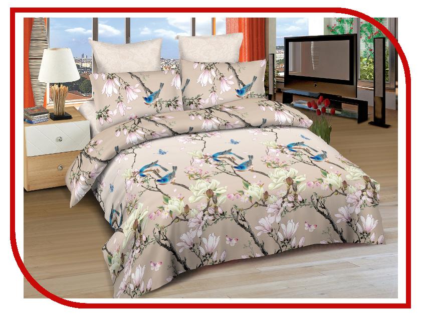 Постельное белье Amore Mio BZ Vegas Комплект 2 спальный Сатин 4221