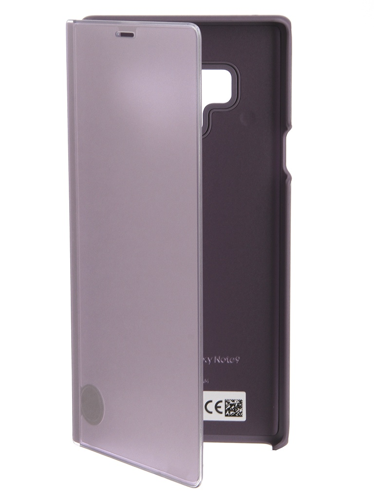 Аксессуар Чехол-книжка Samsung Galaxy Note 9 Clear View Standing Cover Violet EF-ZN960CVEGRU аксессуар чехол книжка samsung galaxy note 9 led view cover violet ef nn960pvegru