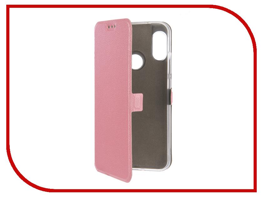 Аксессуар Чехол для Xiaomi Redmi 6 Pro Zibelino Sottile Silicon Pink ZSS-XIA-6-PRO-PNK аксессуар чехол macbook pro 13 speck seethru pink spk a2729