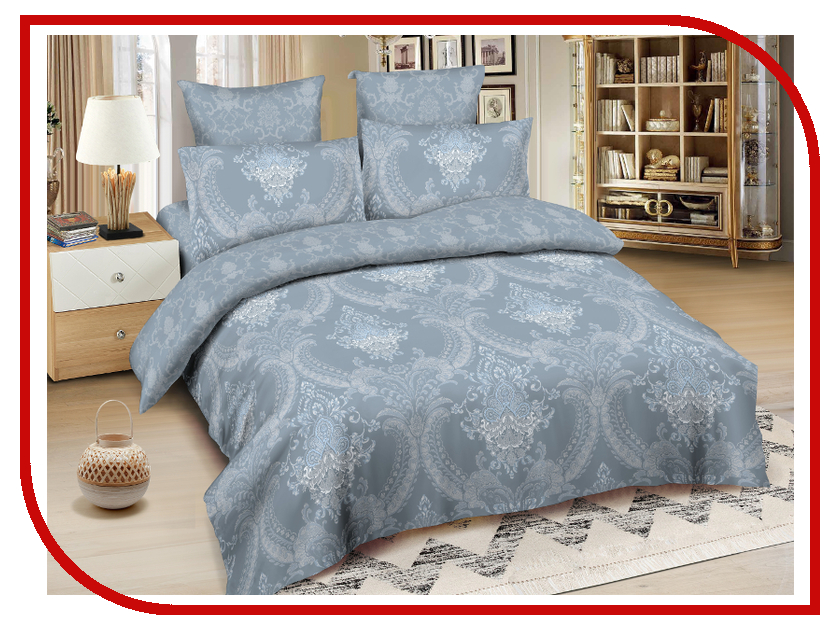 Постельное белье Amore Mio BZ Lyons Комплект 2 спальный Сатин 4220 постельное белье estro c52 комплект 2 спальный сатин