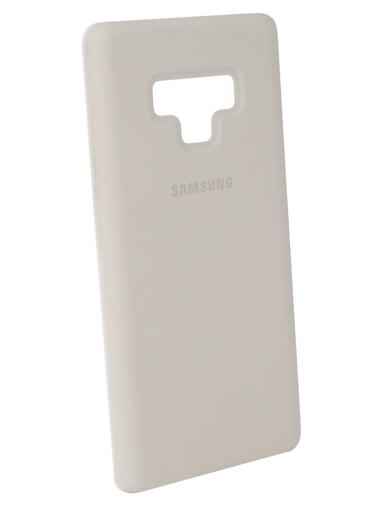 Аксессуар Чехол-накладка Samsung Galaxy Note 9 Silicone Cover White EF-PN960TWEGRU
