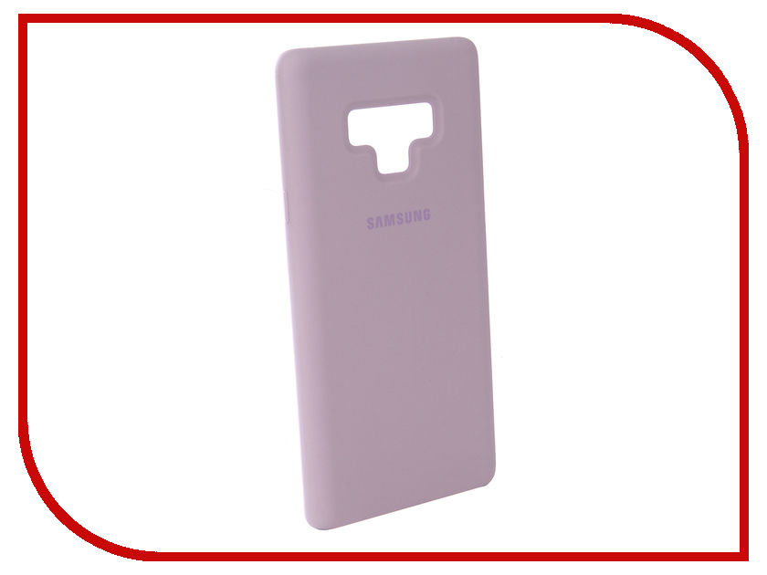 Аксессуар Чехол-накладка Samsung Galaxy Note 9 Silicone Cover Violet EF-PN960TVEGRU mini usb wish bottle humidifier portable led air purifier aroma diffuser atomizer office home car