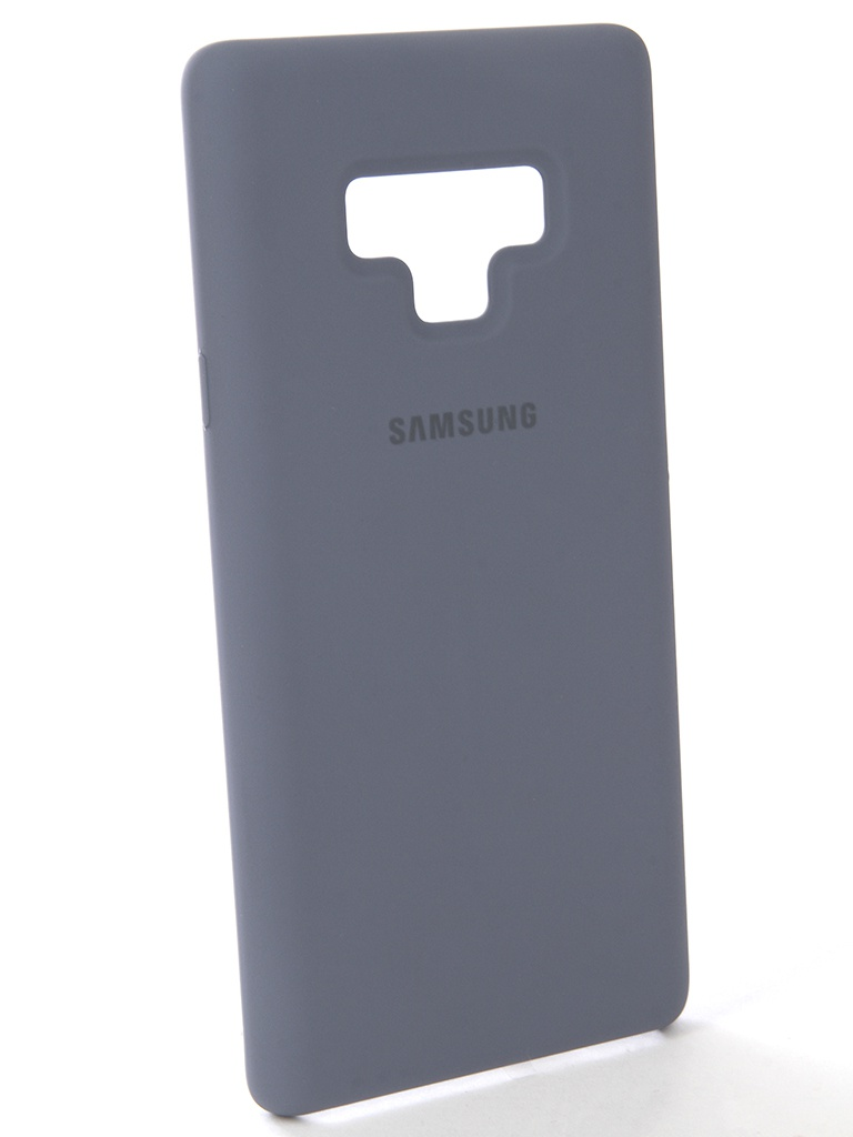 Аксессуар Чехол-накладка Samsung Galaxy Note 9 Silicone Cover Blue EF-PN960TLEGRU стоимость