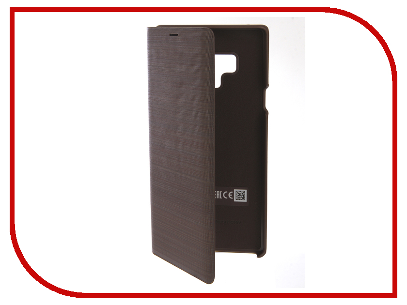 Аксессуар Чехол-книжка Samsung Galaxy Note 9 LED View Cover Brown EF-NN960PAEGRU аксессуар чехол samsung galaxy note 7 n930 leather cover black ef vn930lbegru