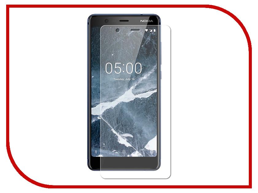 Аксессуар Защитное стекло для NOKIA 5.1 2018 Zibelino TG ZTG-NOK-5.1 защитное стекло interstep для nokia 5 black is tg nokia5fsb 000b201