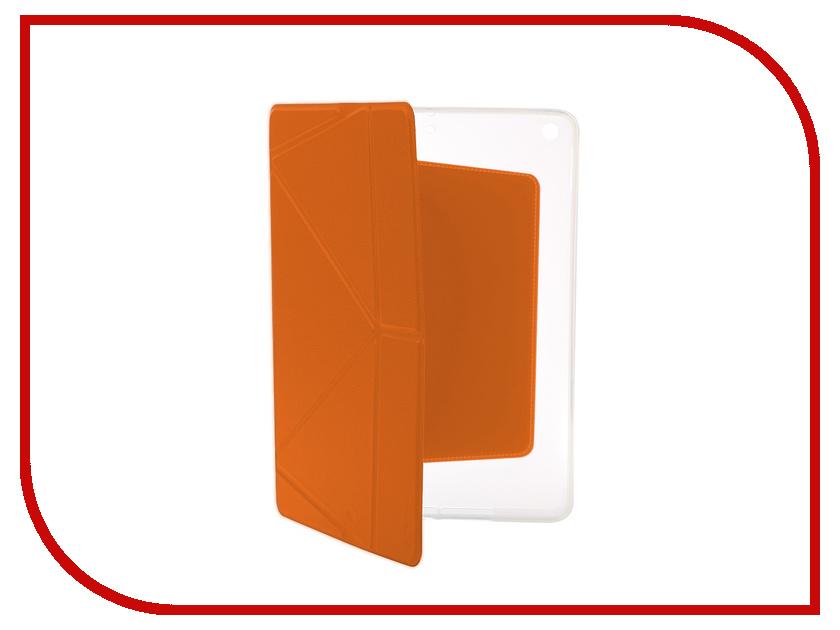все цены на Аксессуар Чехол Gurdini Lights Series для APPLE iPad 9.7 2017 Orange онлайн