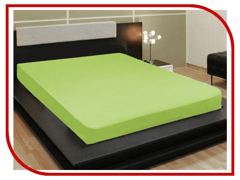 Простыня Amore Mio AG 90x200 Трикотаж Green 4500