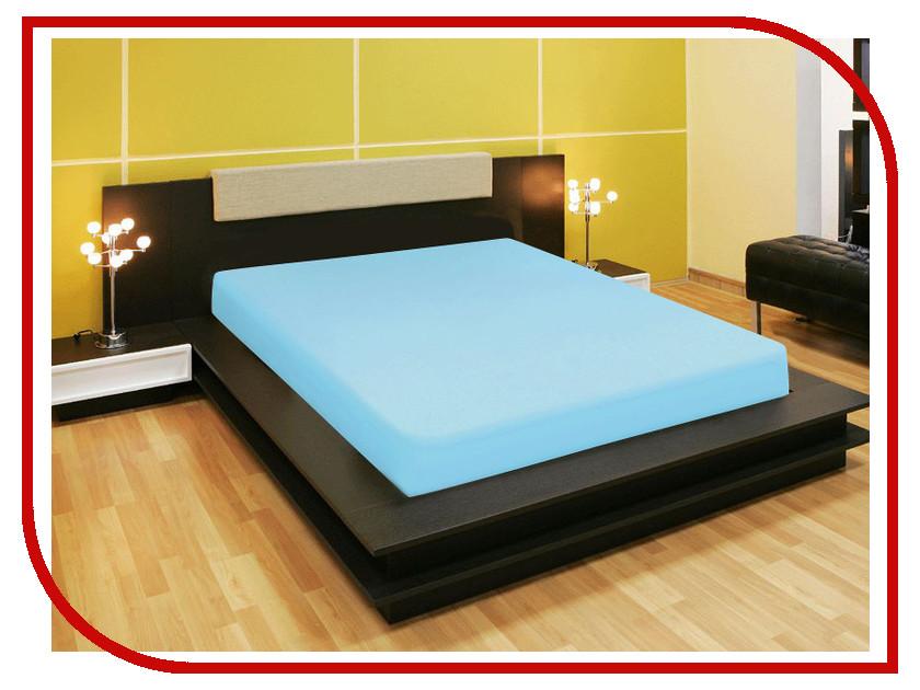 Простыня Amore Mio AG 200x200 Трикотаж Turquoise 80232