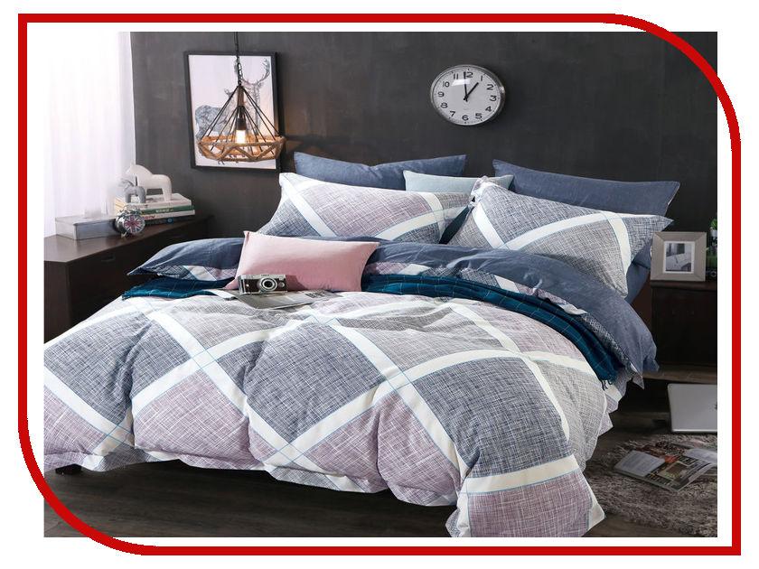 Постельное белье Cleo Satin Lux 31/272-SL Комплект Евро Сатин постельное белье экзотика кензо комплект евро сатин