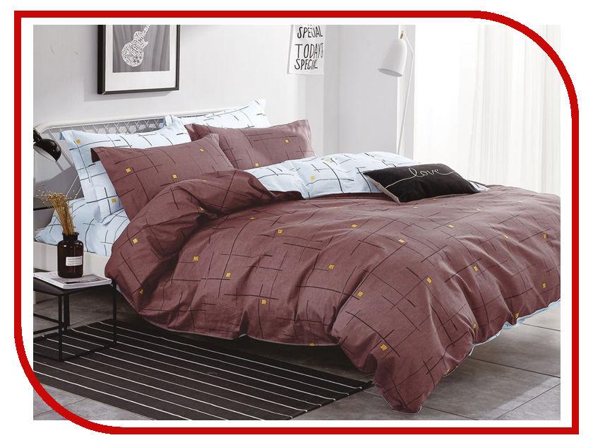 Постельное белье Cleo Satin Lux 31/270-SL Комплект Евро Сатин