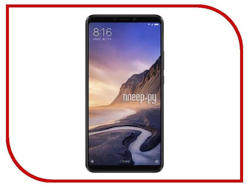 все цены на Сотовый телефон Xiaomi Mi Max 3 4/64GB Black