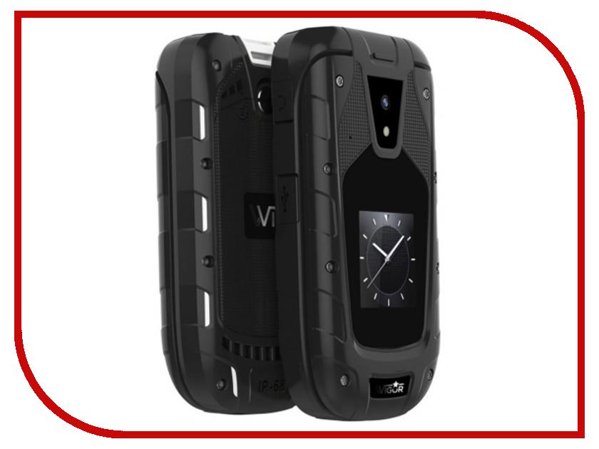 Сотовый телефон Wigor H3 DS Black смартфон wigor v3 black