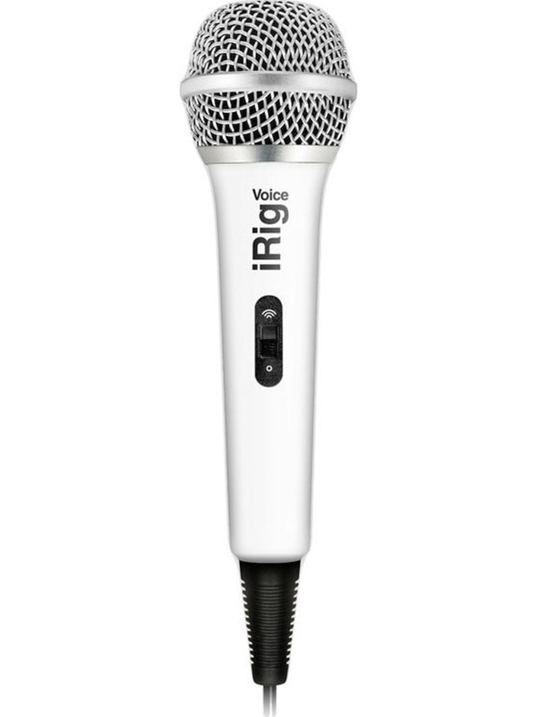 Микрофон IK Multimedia iRig Voice White IP-IRIG-MICVOW-IN