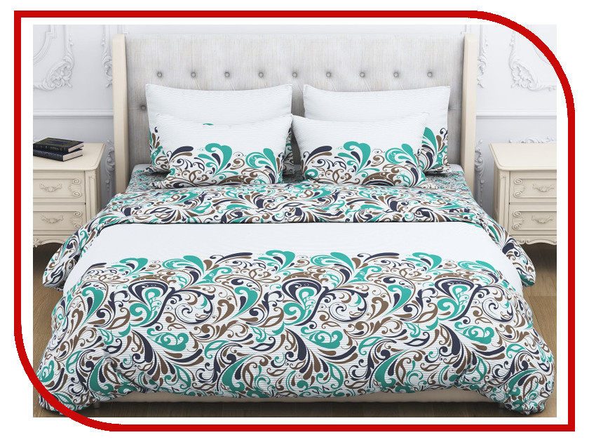 Постельное белье Amore Mio BZ Fantasy Комплект 1.5 спальный Бязь 1926 постельное белье эго комплект 1 5 спальный полисатин