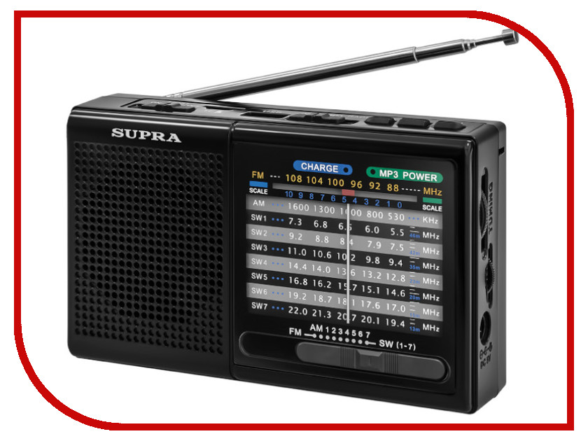 цена на Радиоприемник SUPRA ST-21UR