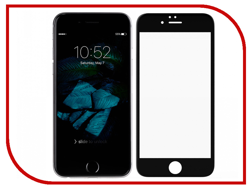 Купить Аксессуар Защитное стекло для APPLE iPhone 6 Innovation 2D Full Glue Cover Black 12323