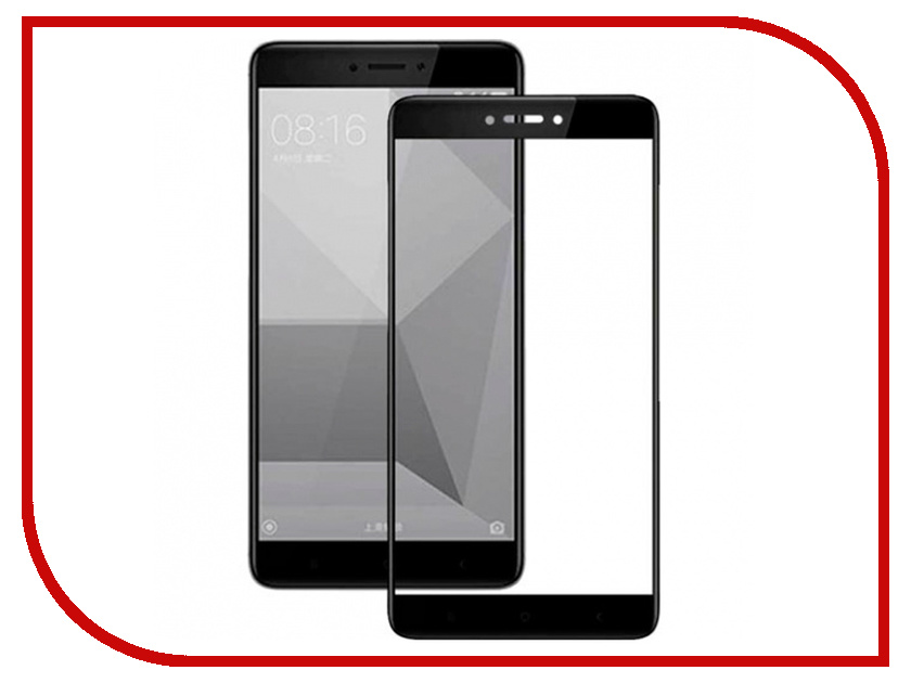 все цены на Аксессуар Защитное стекло для Xiaomi Redmi Note 4X Innovation 2D Full Glue Cover Black 12343 онлайн
