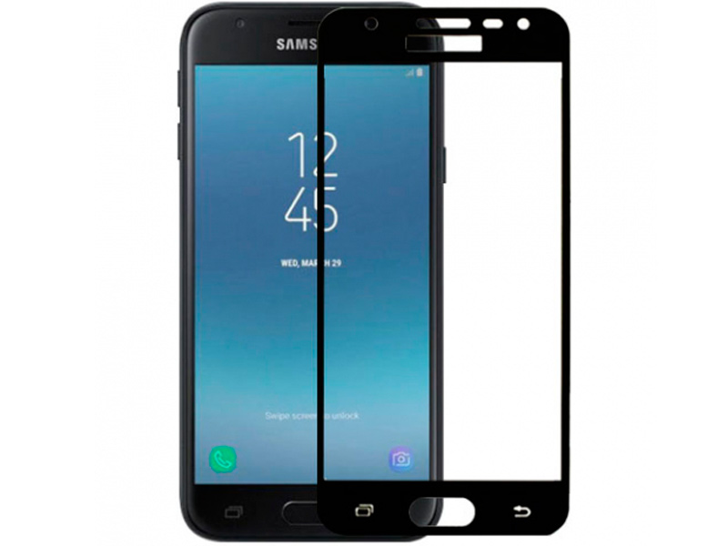 Аксессуар Защитное стекло Innovation для Samsung Galaxy J530 2017 2D Full Glue Cover Black 12338 аксессуар противоударное стекло для samsung galaxy j8 2018 innovation 2d full glue cover gold 12814