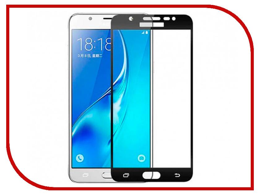 Аксессуар Защитное стекло для Samsung Galaxy J730 2017 Innovation 2D Full Glue Cover Black 12340 аксессуар противоударное стекло для samsung galaxy j7 2018 j730 innovation 2d full glue cover gold 12809