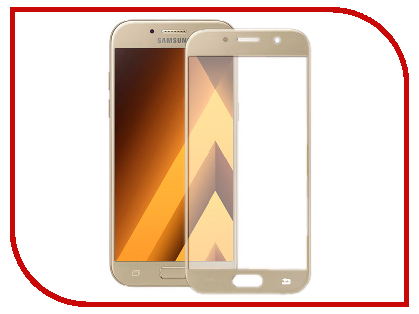 Аксессуар Защитное стекло для Samsung Galaxy A5 Innovation 2D Full Glue Cover Gold 12330 1u network firewall router system with 8 ports gigabit lan 4 spf intel i3 4160 3 6ghz mikrotik pfsense ros wayos 4g ram 64g ssd