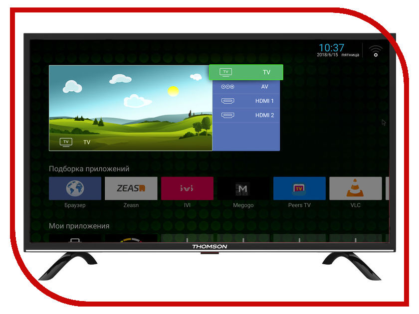 Телевизор Thomson T32RTL5130 телевизор thomson t24rte1080