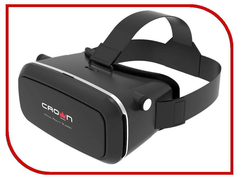 Очки виртуальной реальности CROWN CMVR-07 Black sms projector precision cm v485 735 incl unislide pp120002