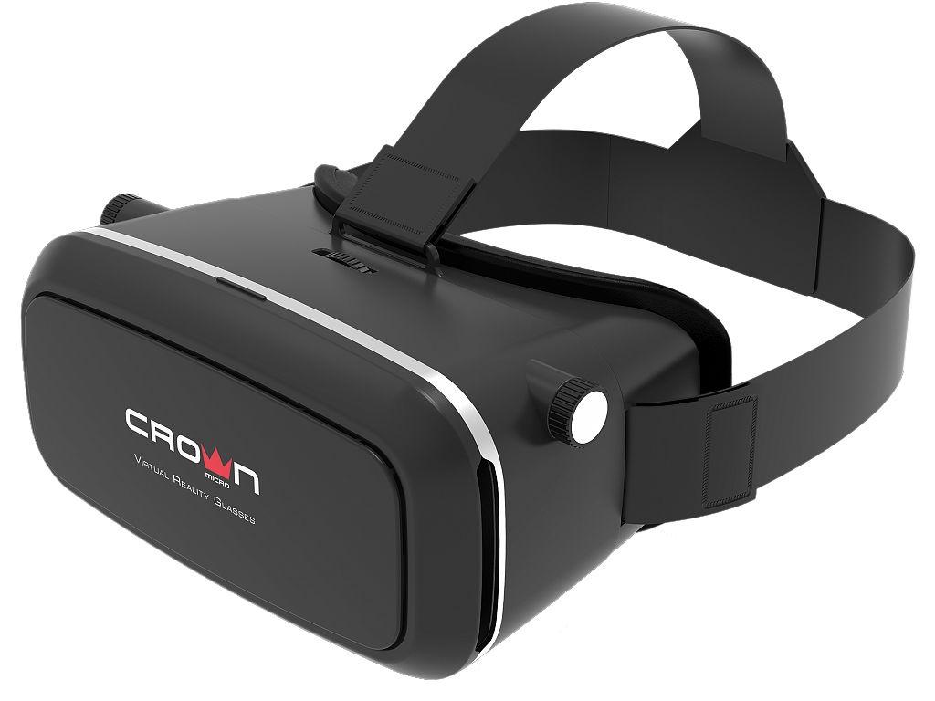 Очки виртуальной реальности CROWN CMVR-07 Black цена и фото