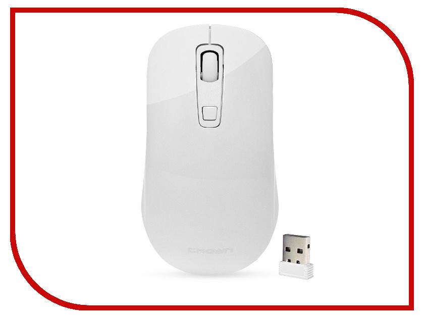 Мышь Crown CMM-918W White