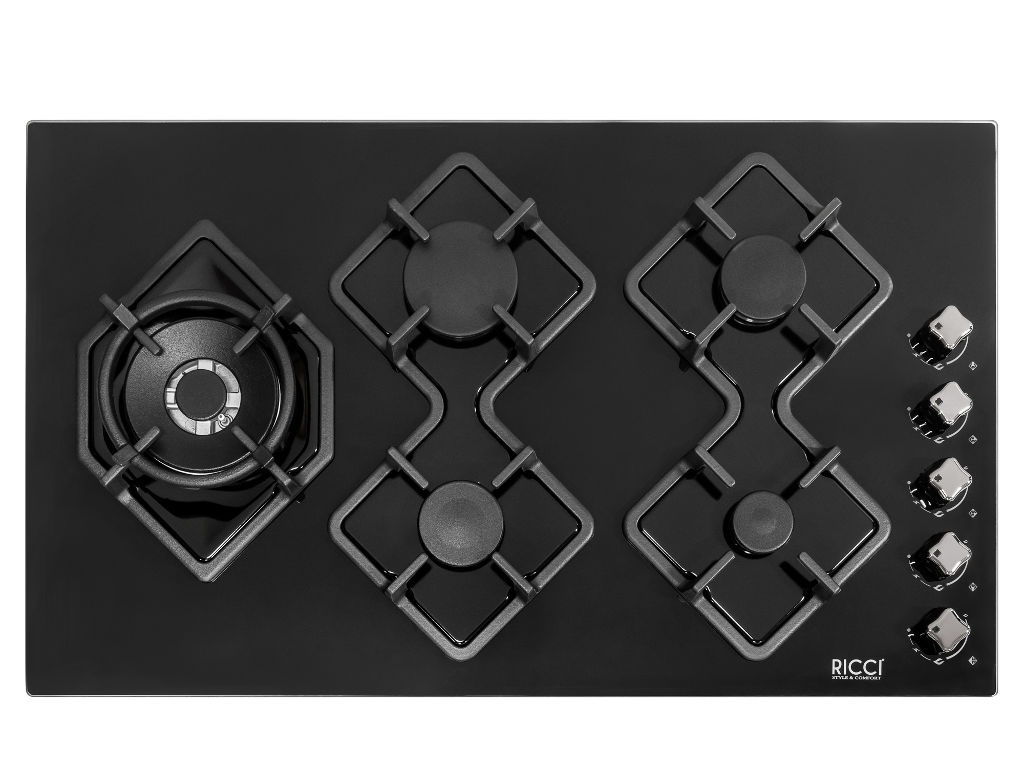 Варочная панель RICCI RGN-KA5041BL dino ricci 508 12 04