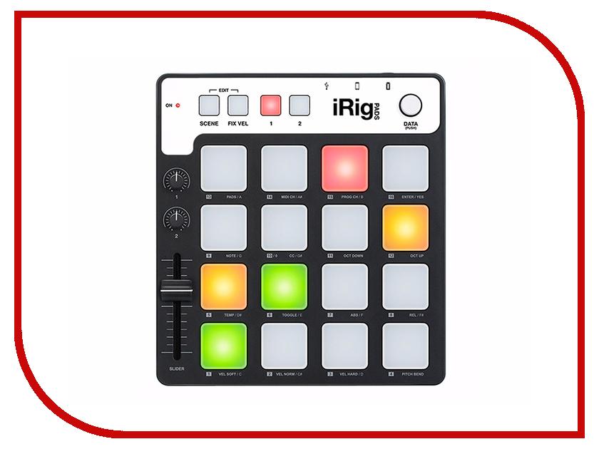 MIDI-контроллер IK Multimedia iRig Pads midi контроллер alesis sample pad