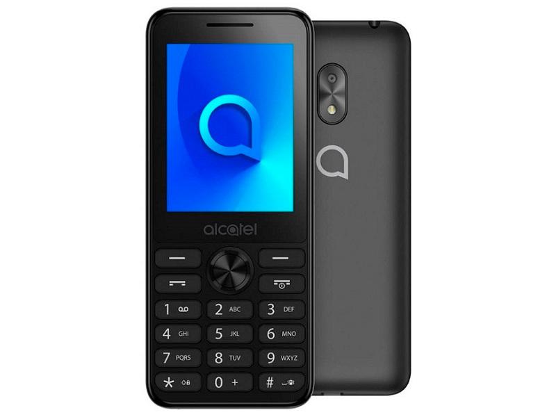Сотовый телефон Alcatel 2003D Dark Grey сотовый телефон archos 55 cobalt plus dark grey