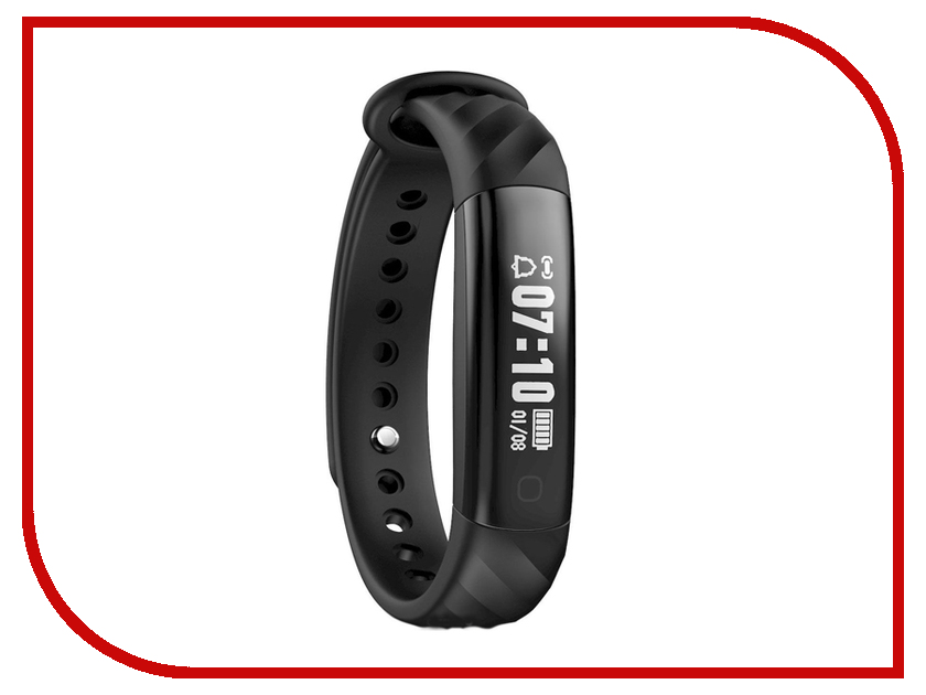 Умный браслет iWOWN i5HR Black iwown v6 bluetooth headset smart bracelet