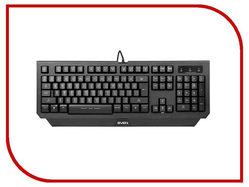 Клавиатура Sven Challenge 9300 SV-03109300UB клавиатура проводная sven challenge 9300 usb черный