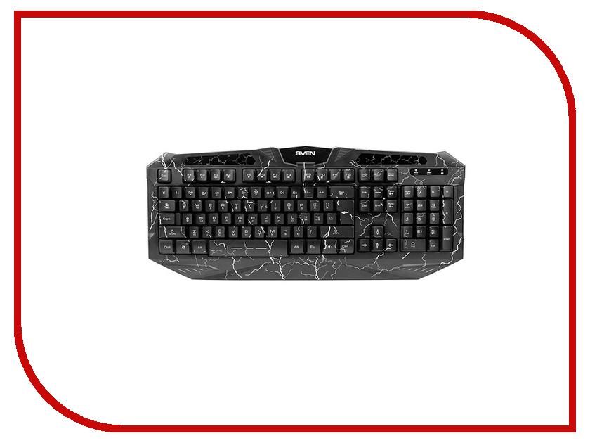Клавиатура SVEN Challenge 9900 Black USB