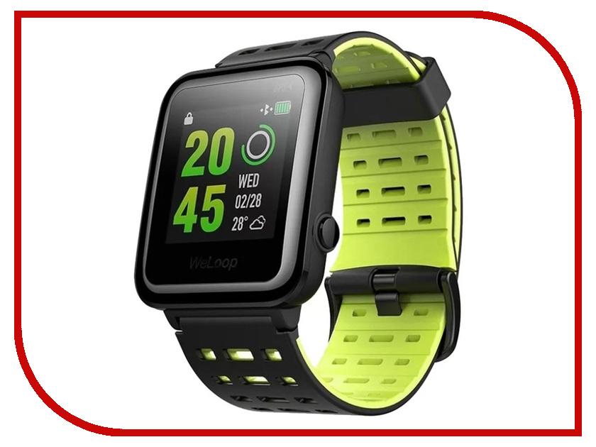 Умные часы WeLoop Hey 3S Black-Green