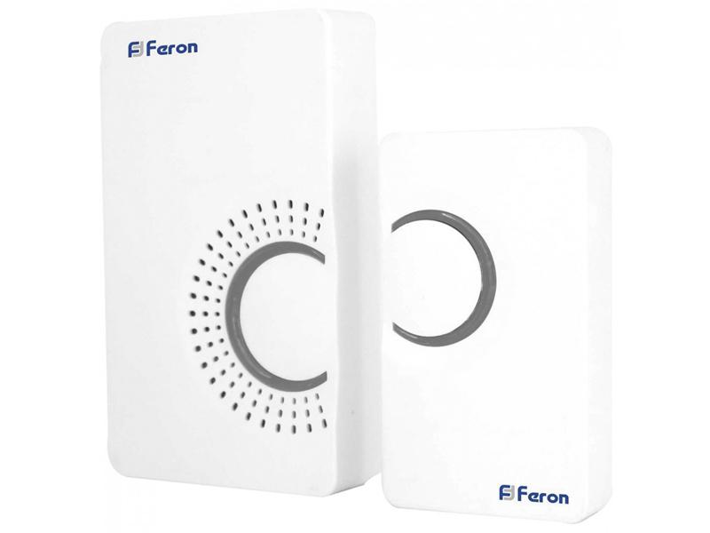Звонок дверной Feron E-373 White-Gray 44161