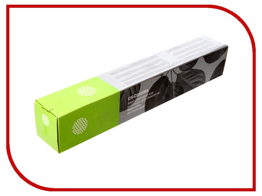Картридж Cactus CS-C5000BK Black для Ricoh Aficio MP C4000/MP C5000 23000стр 1set mpc4000 developer for ricoh mp c2800 c3300 c4000 c5000 mpc2800 mpc3300 mpc5000 copier parts