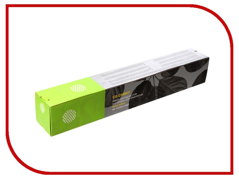 Картридж Cactus CS-C5000Y Yellow для Ricoh Aficio MP C4000/MP C5000 18000стр aficio mp 2501sp
