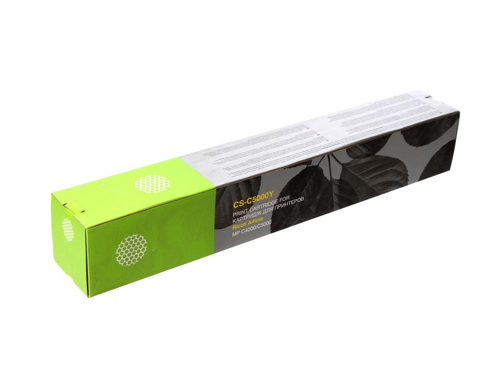 Картридж Cactus CS-C5000Y Yellow для Ricoh Aficio MP C4000/MP C5000 18000стр