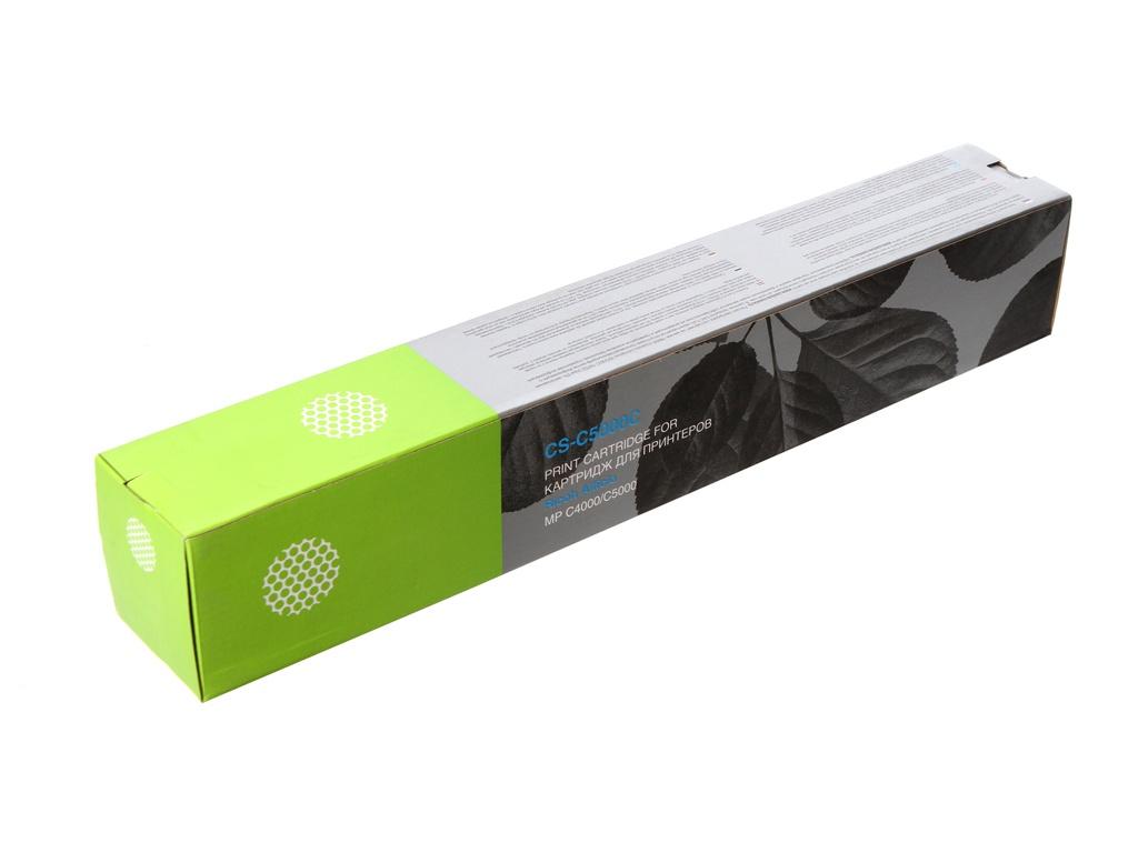 Картридж Cactus CS-C5000C Blue для Ricoh Aficio MP C4000/MP C5000 18000стр