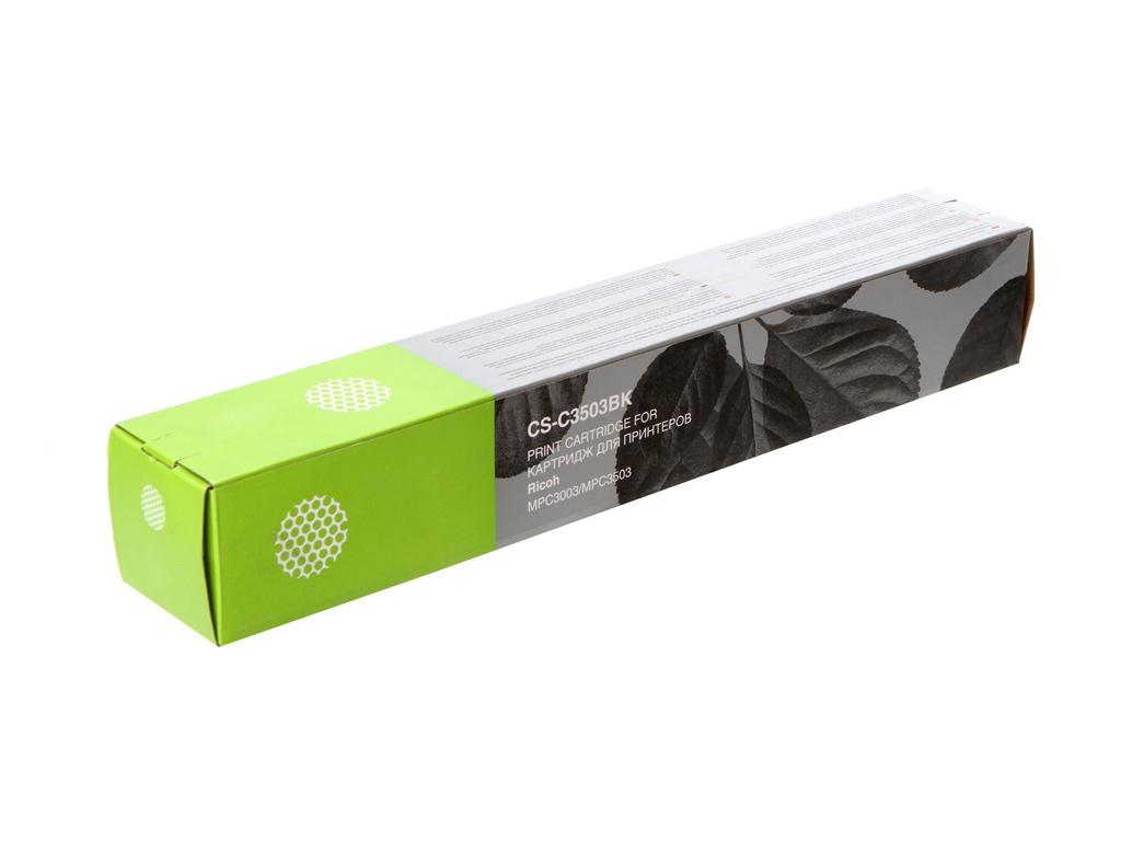Картридж Cactus CS-C3503BK Black для Ricoh Aficio MP C3503/MP C3004ASP/MP C3504SP/MP C3004SP/MP C3504ASP 29500стр