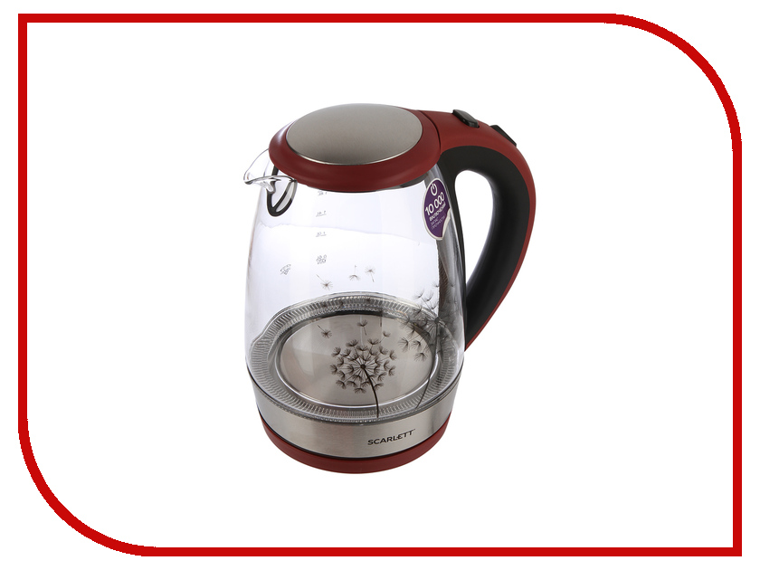Чайник Scarlett SC-EK27G49 электрический чайник scarlett sc ek18p15
